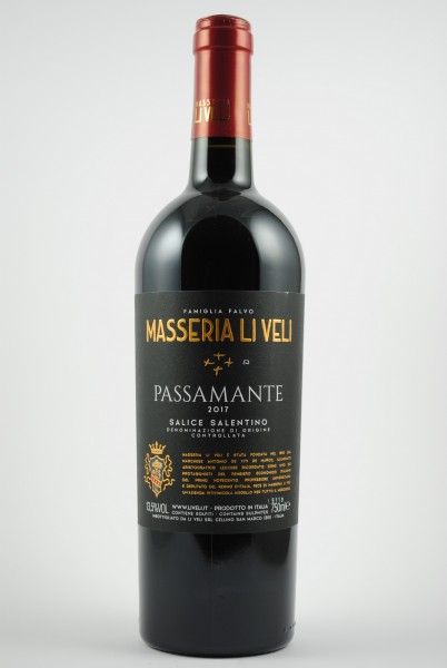 2017 PASSAMANTE Salice Salento